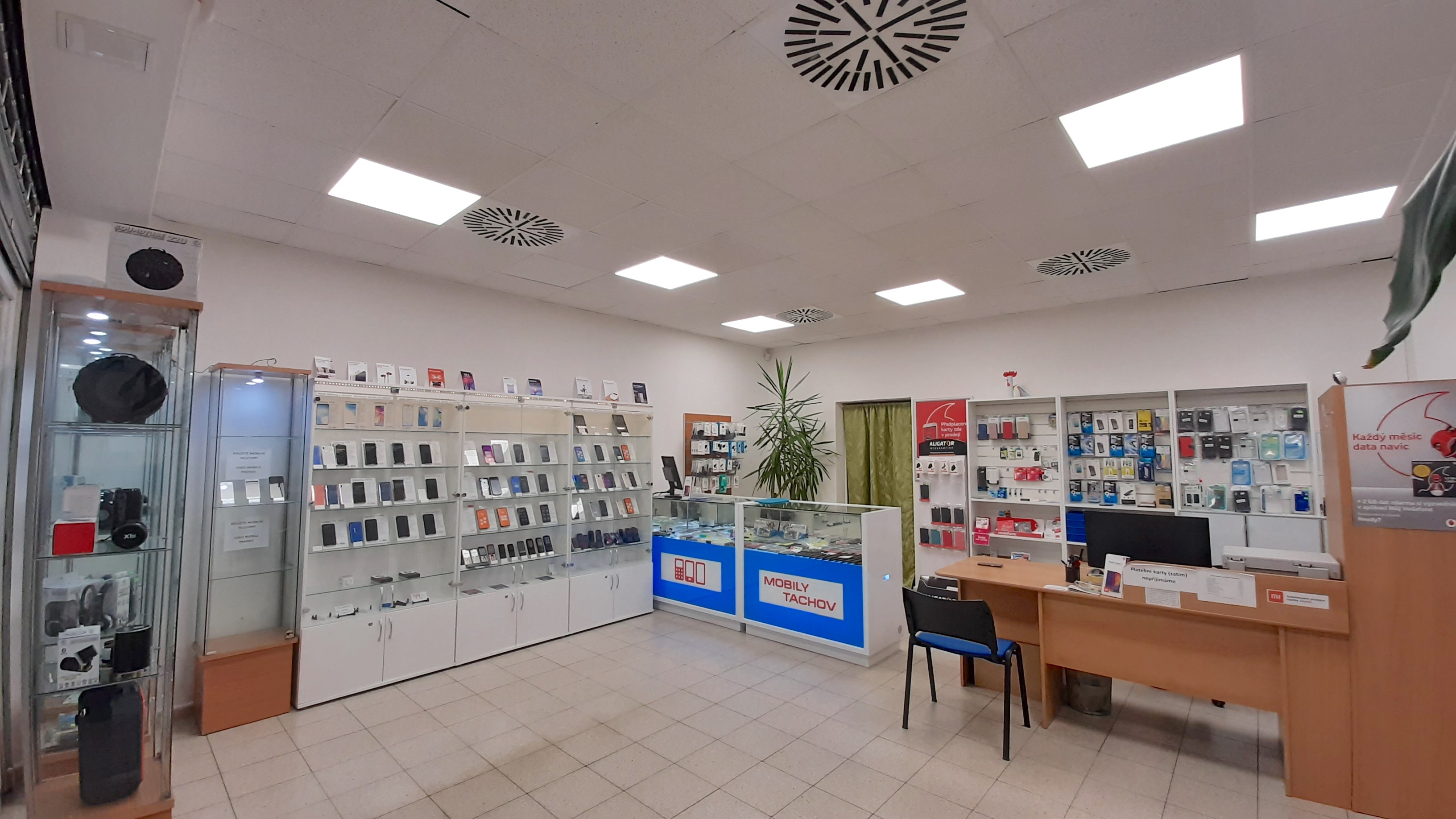 LED osvětlení Prodejna Tachov 2