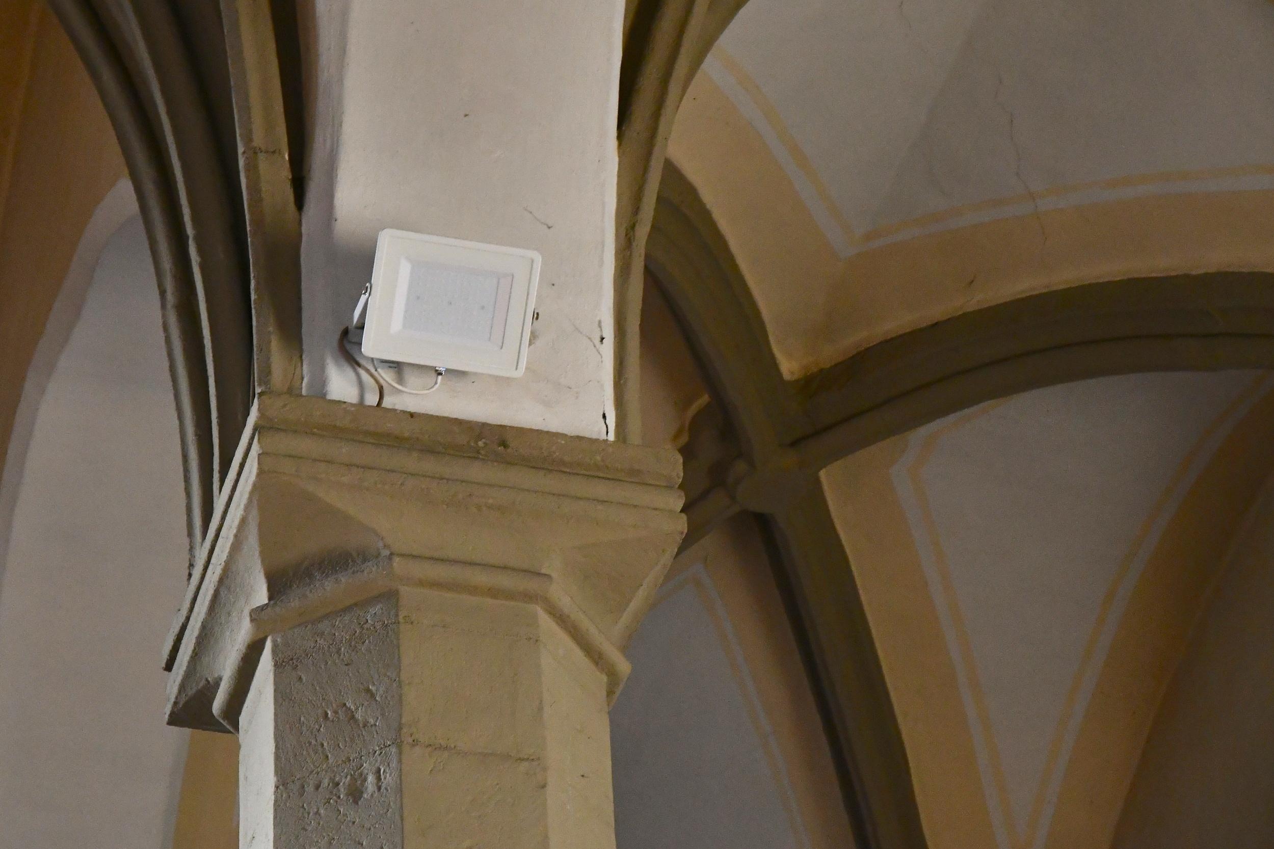 LED osvětlení Reflektory kostel Přibor 3