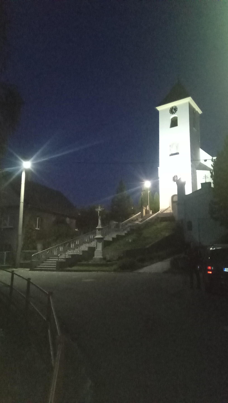 Veřejné osvětlení Albrechtičky 2