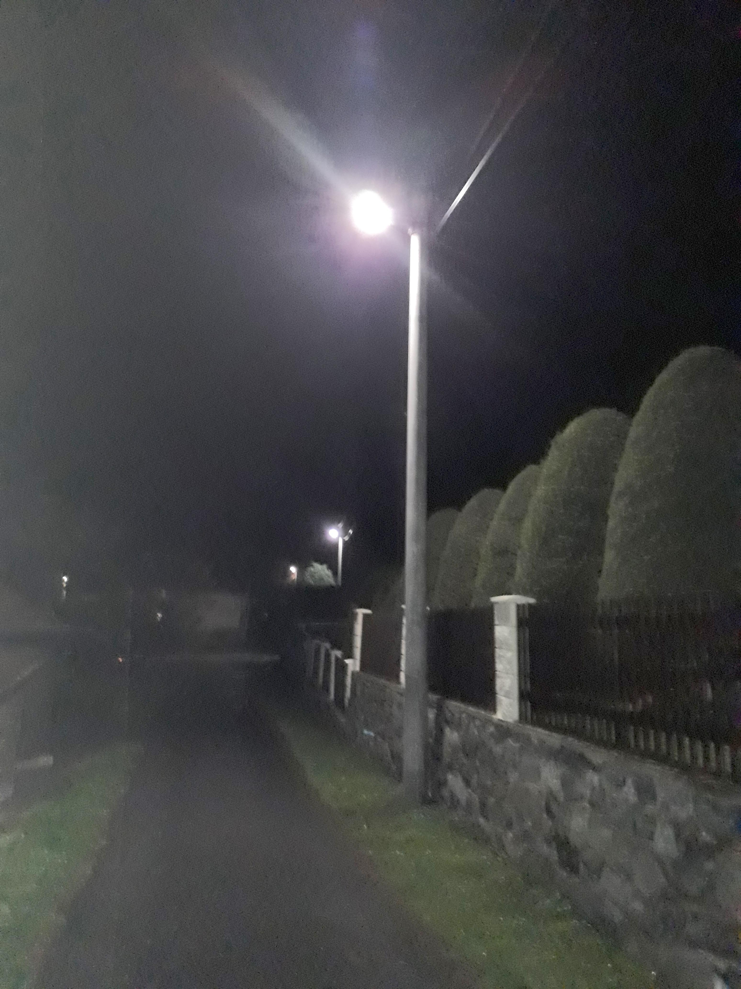 LED osvětlení Veřejné Valkeřice 2
