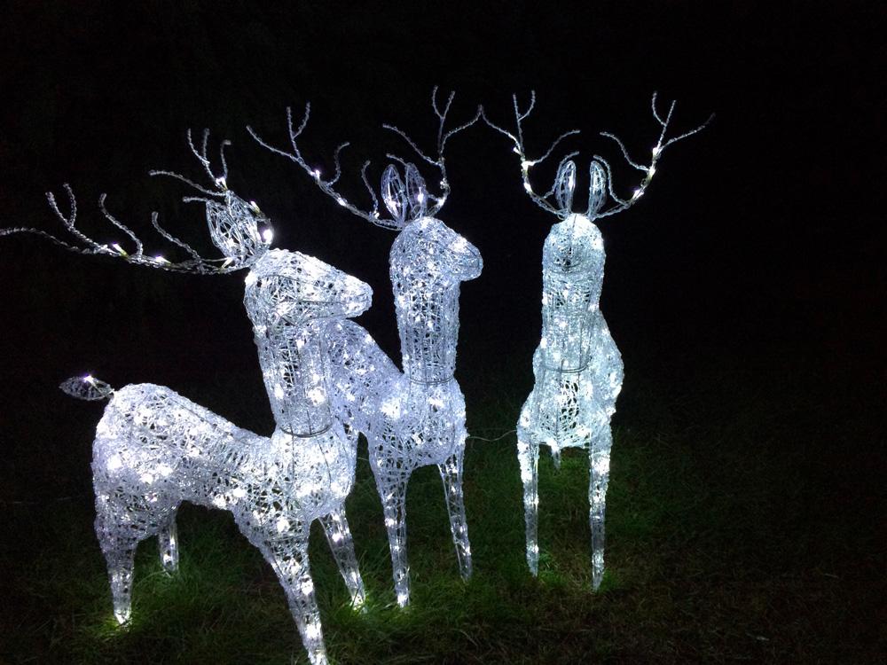 LED osvětlení zahrady sob 2