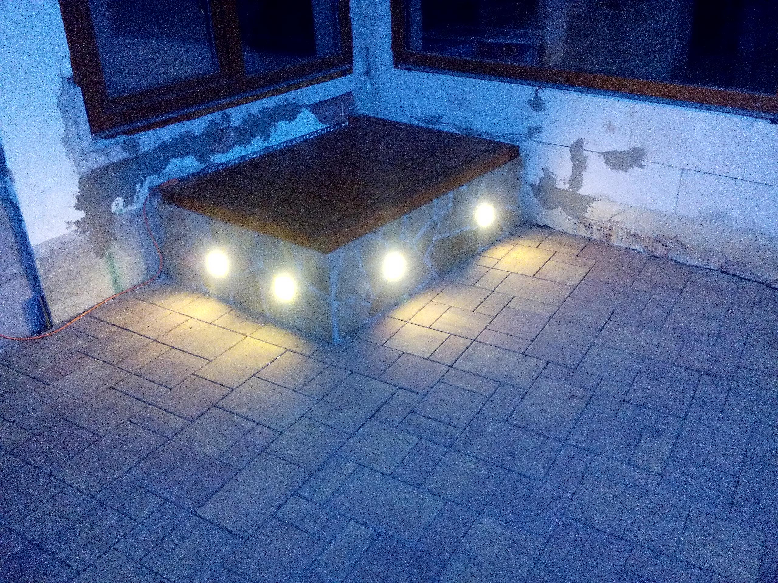 LED osvětlení Zahradní Ořechov 1