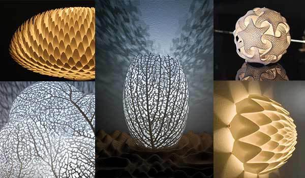 3D vytištěné osvětlení