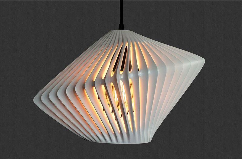 3D závěsné světlo