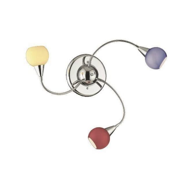 Nástěnné-svítidlo---Ideal-lux-LED-tender-pl3-color