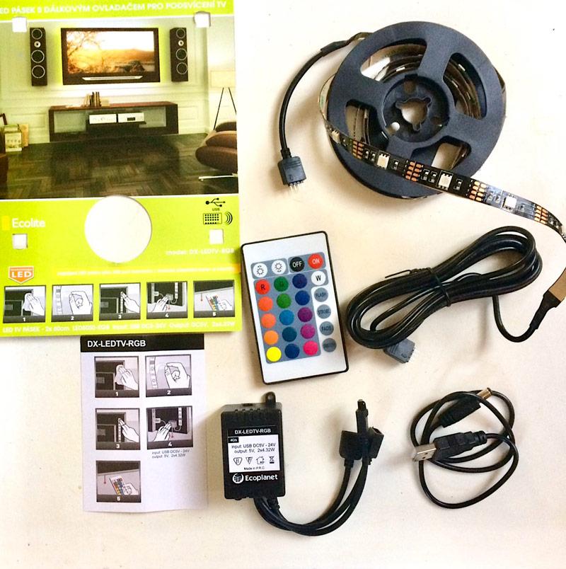 Kompletní sada LED pásků