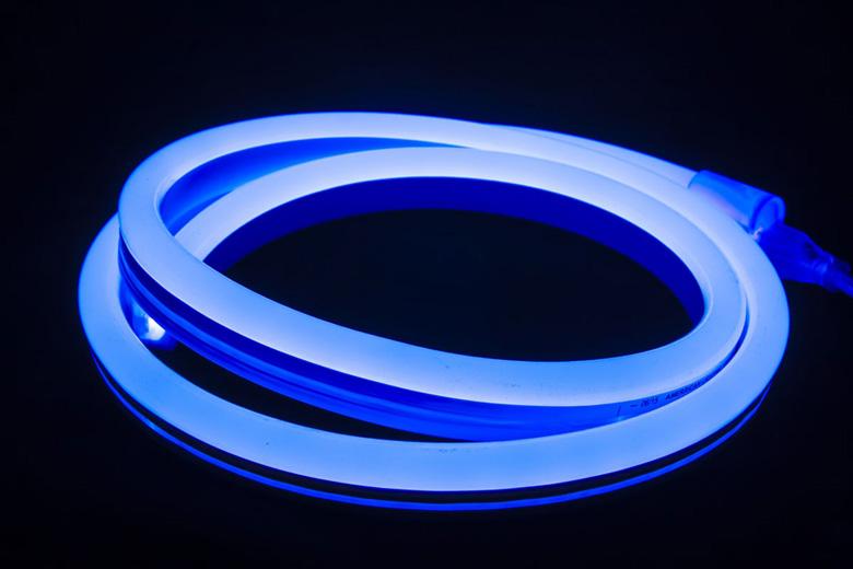 LED neon pásek modrý