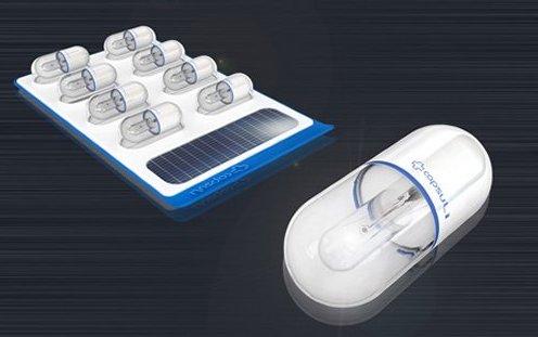 led světelná pilulka