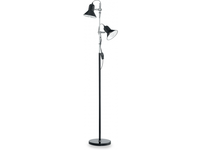 Ideal lux LED Polly nero lampa stojací 2x5W 061139