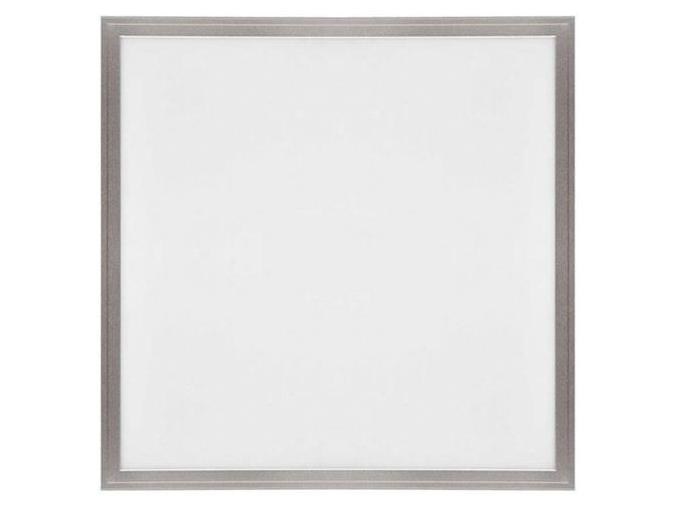 stříbrný podhledový LED panel 600 x 600mm 45W denní bílá 6000lm