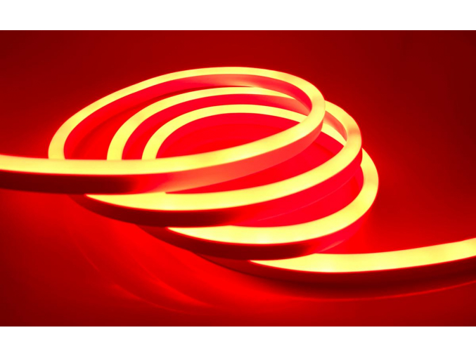 LED NEON pásek 9W 230V červená