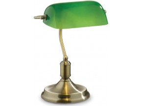 Ideal lux LED Lawyer Brunito stolní lampa 5W 045030