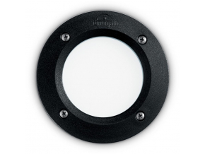 Ideal lux LED Leti round bodové svítidlo nero max 3W gx53 / 096551