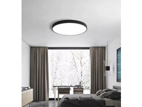 Černý designový LED panel 400mm 24W denní bílá