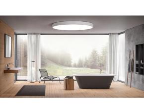 bílý designový LED panel 400mm 24W denní bílá