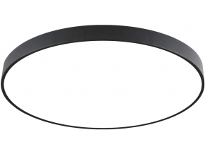 Černý designový LED panel 500mm 36W denní bílá