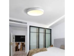 Bílý designový LED panel 600mm 48W teplá bílá