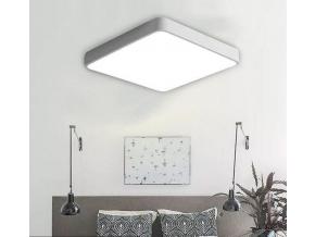 Bílý designový LED panel 400 x 400mm 24W teplá bílá