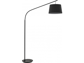 Ideal lux LED Daddy nero lampa stojací 5W 110363