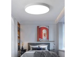 Šedý designový LED panel 400mm 24W denní bílá