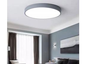 Šedý designový LED panel 500mm 36W denní bílá