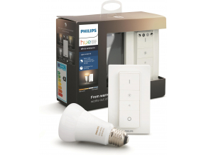 Philips Hue Bluetooth žárovka LED E27 9,5W 806lm 2200-6500K + dimmer switch