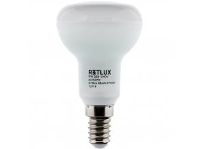 LED žárovka RLL R50 E14 Spot 6W teplá bílá