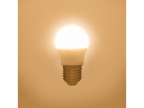 LED žárovka G45 E27 miniG 7W teplá bílá