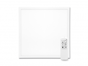 Bílý LED podhledový panel 600 x 600mm 40W CCT