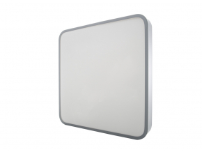 Závěsný Šedý designový LED panel 400 x 400mm 24W denní bílá