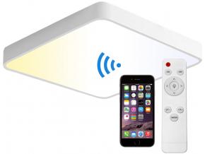 Bílý designový LED panel 400 x 400mm 24W smart CCT