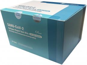 SARS-CoV-2 LEPU Antigen Rychlotest z kraje nosu sada 25 ks