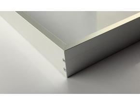 Stříbrný LED panel s rámečkem RGB 300 x 1200 mm 30W