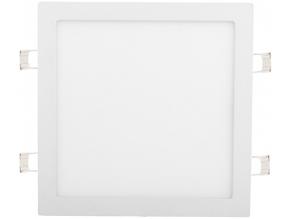 Bílý vestavný LED panel 300 x 300mm 25W denní bílá