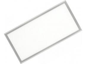Stmívatelný stříbrný podhledový LED panel 300 x 600mm 30W denní bílá