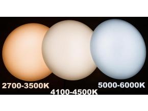 LED stropní svítidlo s PIR čidlem 12W denní bílá