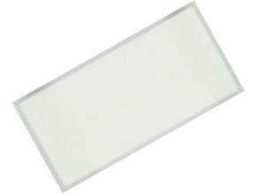 Stříbrný podhledový LED panel 600 x 1200mm 75W denní bílá