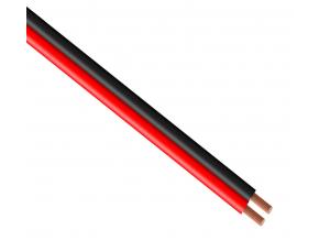 Kabel černý kabel černý 2x0,5