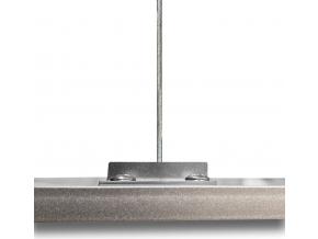 Stmívatelný Závěsný LED panel RGB 600 x 600 mm 25W