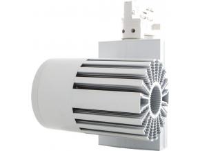 Bílý 3 fázový lištový LED reflektor 40W denní bílá