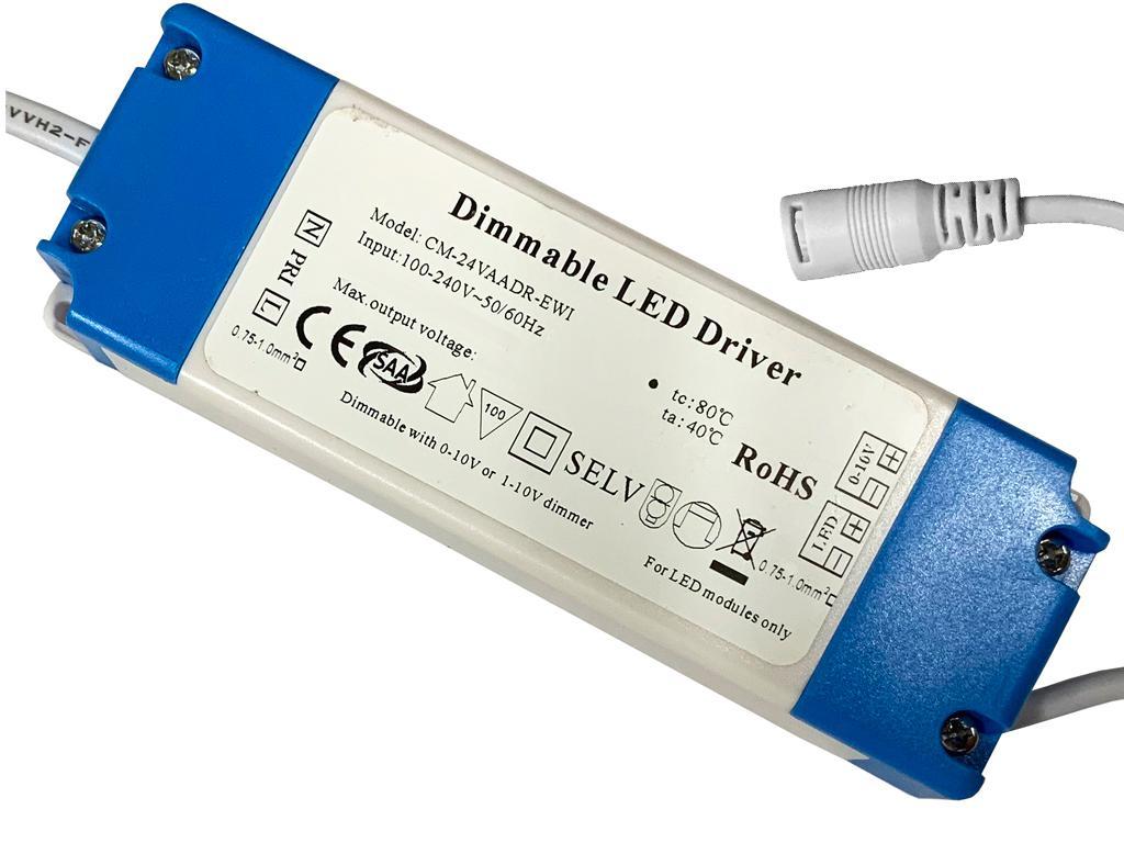 Napájací zdroj k LED panelu 6W Stmievateľné 0-10V