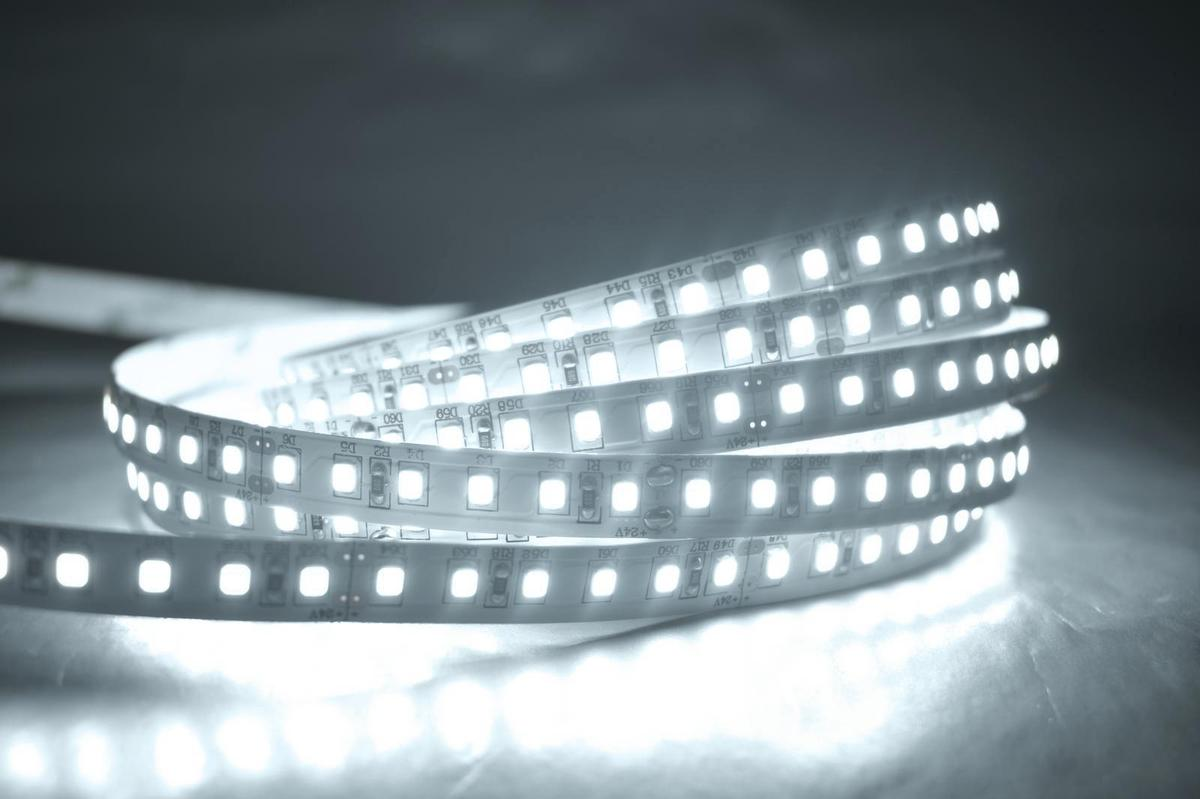 LED pásik 20W/m bez krytia studená biela 6500 7000K