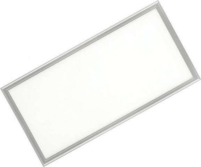 Stmievateľné strieborný podhľadový LED panel 300 x 600mm 30W biela
