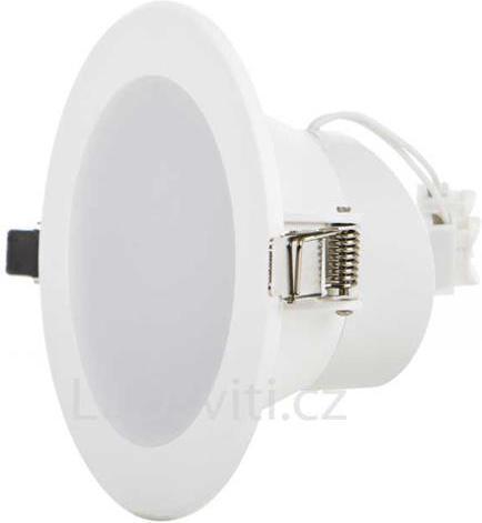 Vstavané okrúhle LED svietidlo 20W 190mm teplá biela IP63