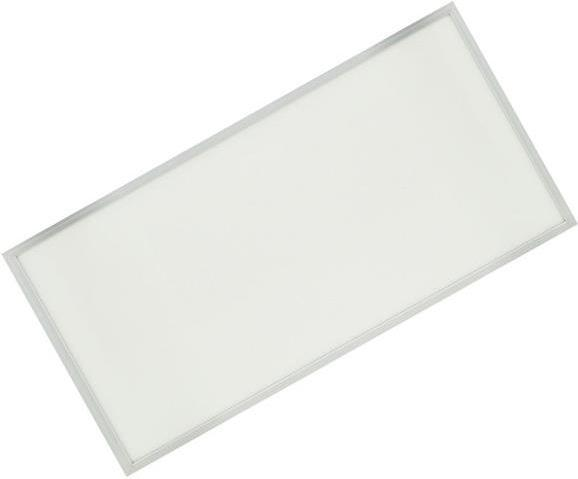Strieborný podhľadový LED panel 600 x 1200mm 75W neutrálna biela