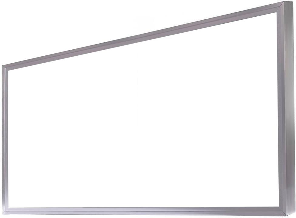 Strieborný LED panel s rámčekom 600 x 1200mm 75W neutrálna biela