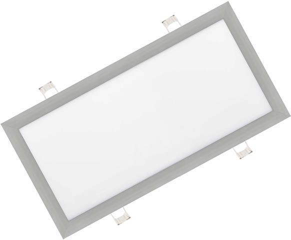 Stmievateľné strieborný vstavaný LED panel 300 x 600mm 30W biela